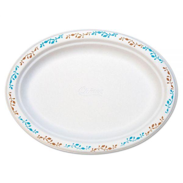 Chinet Molded Fiber Platters