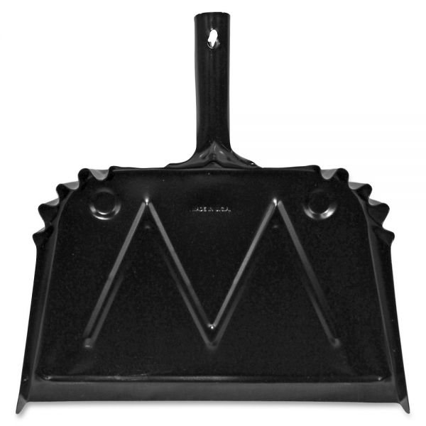 Genuine Joe Heavy-Duty Metal Dustpans