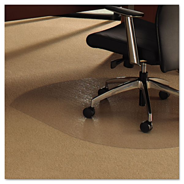 Cleartex Medium/Low Pile Contoured Chair Mat