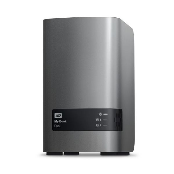 WD My Book Duo 4 TB Dual-drive RAID Storage