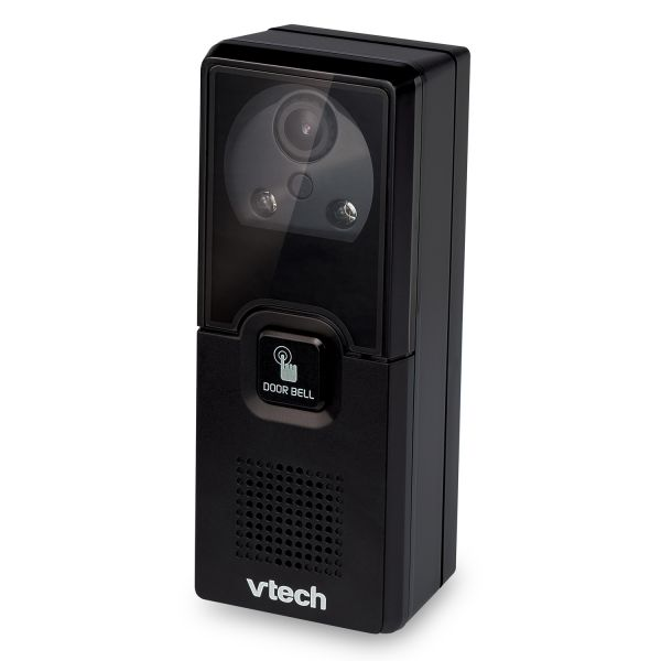 Vtech IS741 Accessory Audio/Video Doorbell Camera, For Use with IS7121-Series System