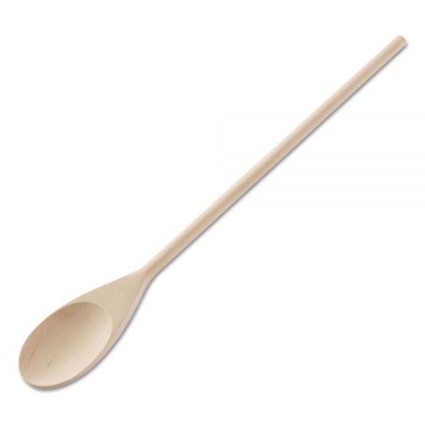 Adcraft Heavy Duty Wooden Mixing Spoon