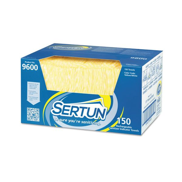 Sertun Rechargeable Sanitizer Indicator Towels