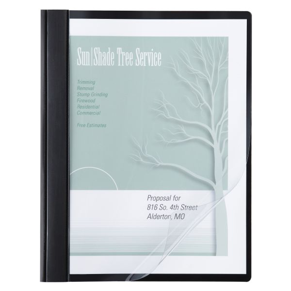 ACCO Vinyl Clear Front Report Covers