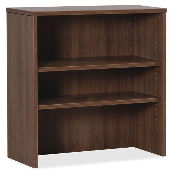 Lorell Essentials Laminate Stack-on 2-Shelf Bookshelf