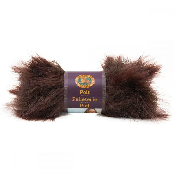 Lion Brand Pelt Yarn - Sable