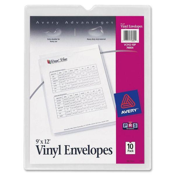 Avery Top Thumb Notch Vinyl Envelopes