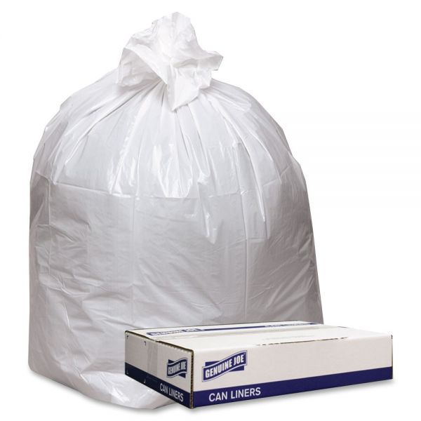 Genuine Joe Extra Heavy-Duty Trash Bags