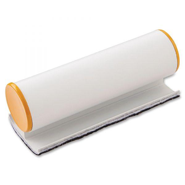Iceberg Big E Eraser with Pad, Refillable, 5 x 2 x 2, Silver