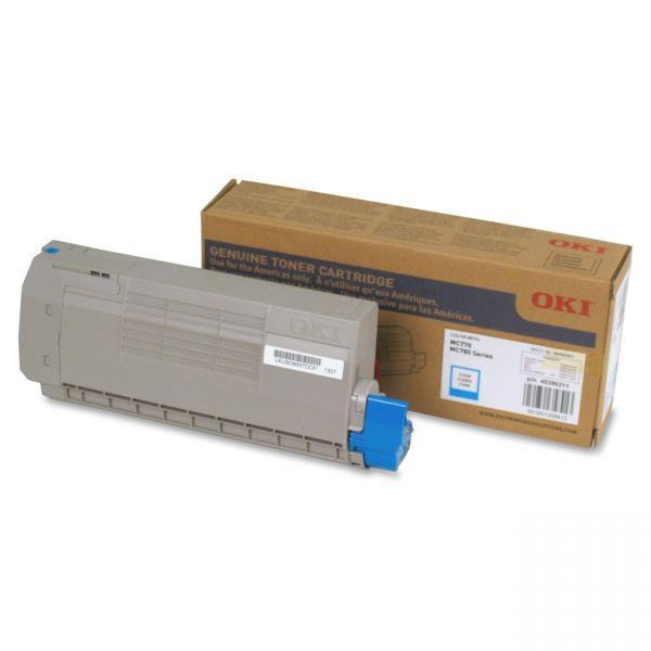 Oki 45396211 Cyan Toner Cartridge