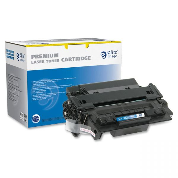 Elite Image Remanufactured HP 55A (CE255A) Toner Cartridge