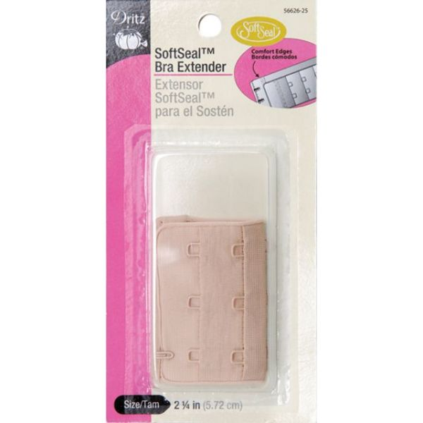 "Soft Seal Bra Extender 2-1/4"" Wide"