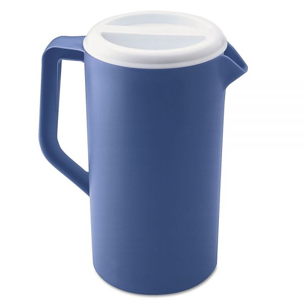 Rubbermaid Commercial Plastic Three-Way-Lid Pitchers