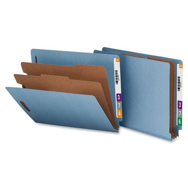 Nature Saver End Tab Blue Classification Folders