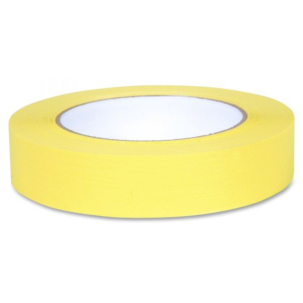 "Duck Color Masking Tape, .94"" x 60 yds, Yellow"