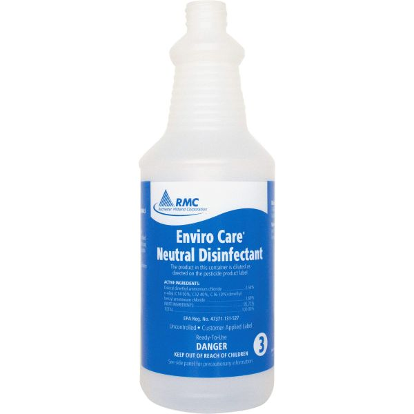 RMC Neutral Disinfectant Spray Bottles