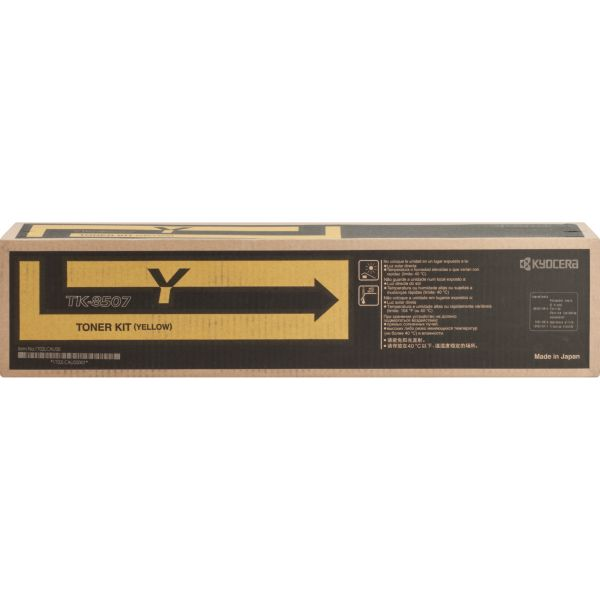 Kyocera TK-8507Y Original Toner Cartridge
