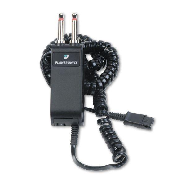 Plantronics P10 Plug Prong Headset Adapter