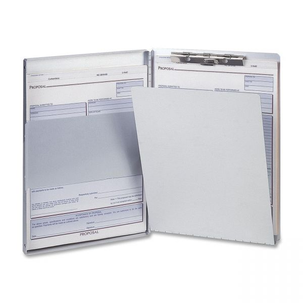 OIC Side Loading Aluminum Storage Clipboard