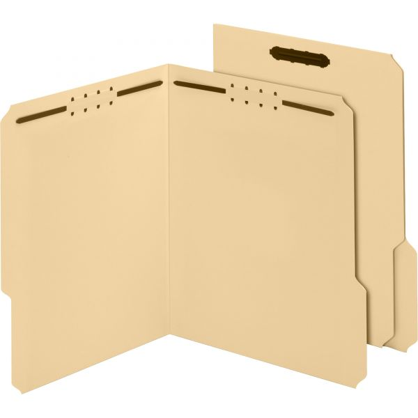 Globe-Weis Antimicrobial File Folders With Fasteners