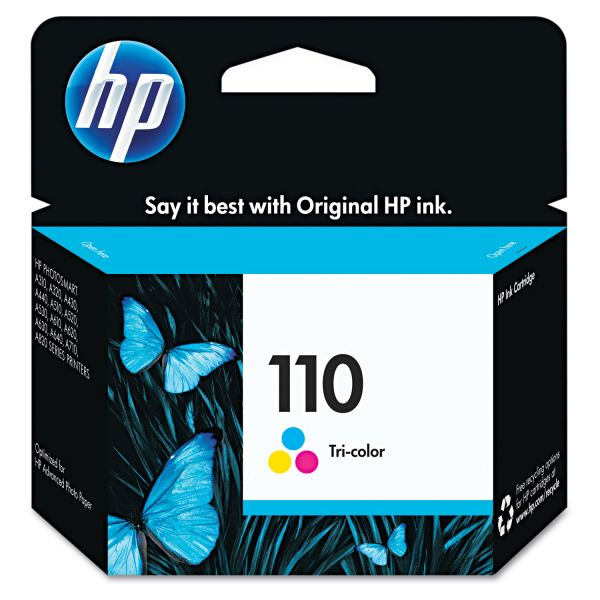 HP 110, (CB304AN) Tri-color Original Ink Cartridge