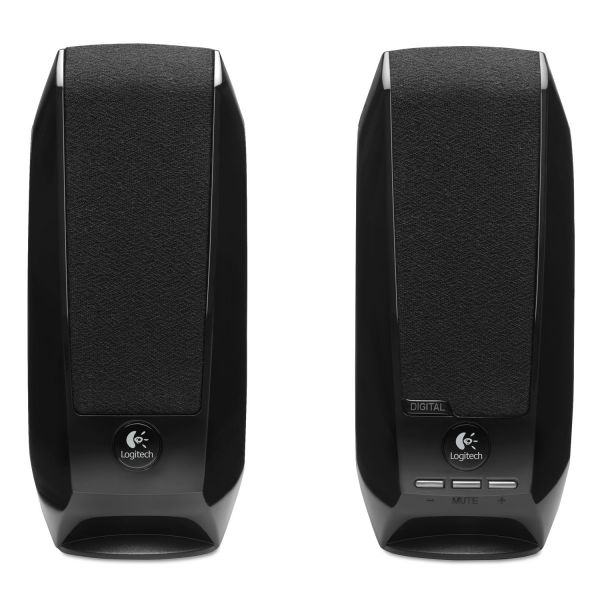 Logitech S-150 2.0 Speaker System - 1.2 W RMS - Black