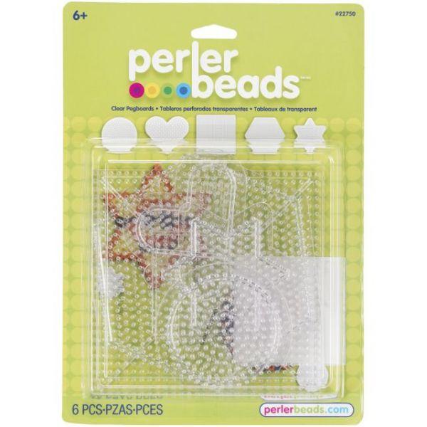 Perler Pegboards 5/Pkg