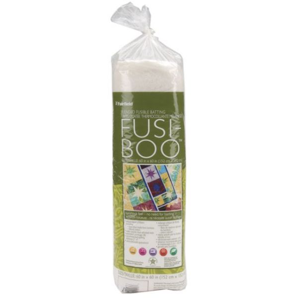 Fusi-Boo Bamboo Fusible Batting