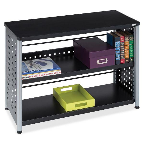 Safco Scoot 2-Shelf Metal Bookcase