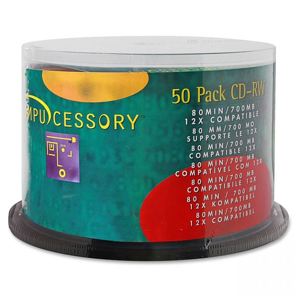 Compucessory Rewritable CD Media