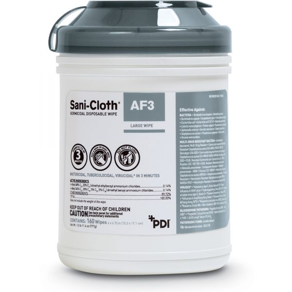 Sani-Cloth Germicidal Surface Cleaner Wipes