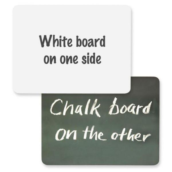 ChenilleKraft 2-in-1 Combo Chalk/Dry-Erase Board