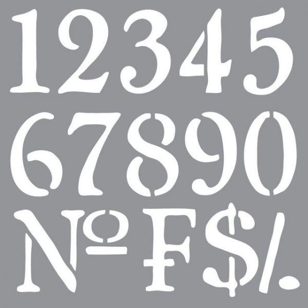 """Americana Decor Stencil 12""""X12"""""""