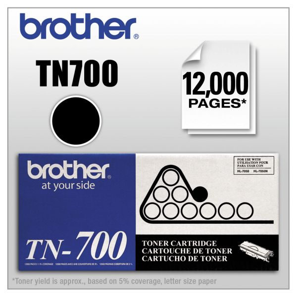Brother TN700 High-Yield Toner, Black