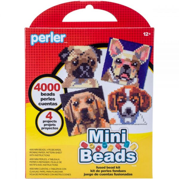 Perler Mini Beads Fused Bead Kit