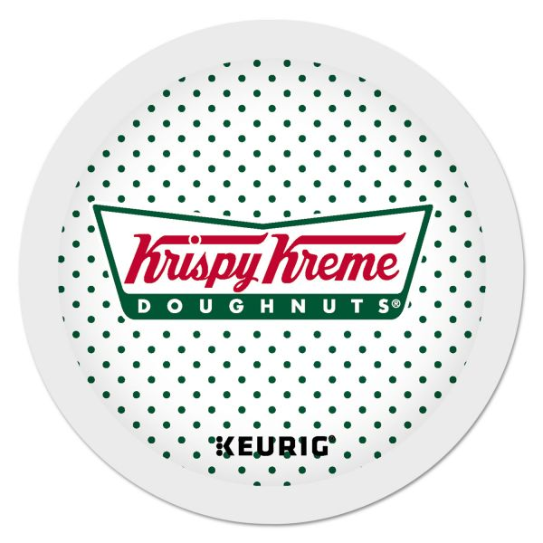 Krispy Kreme Doughnuts Smooth Coffee K-Cups