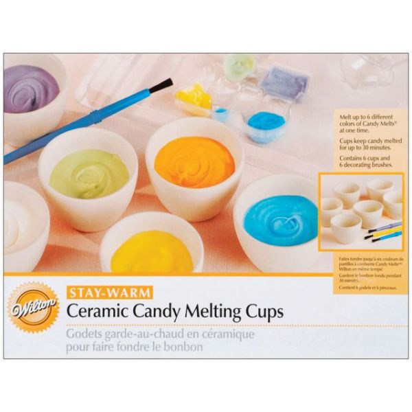 Ceramic Candy Melting Cups & Bowls