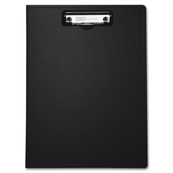 Mobile OPS Unbreakable Recycled Black Plastic Clipboard