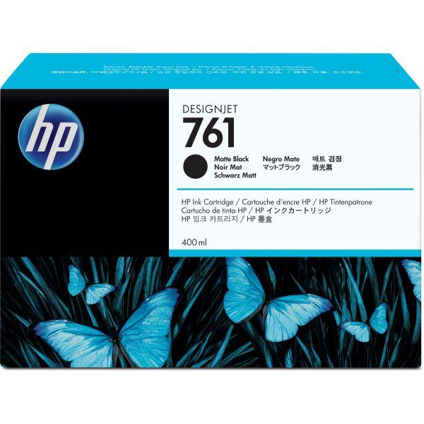 HP 761 Matte Black Ink Cartridge (CM991A)