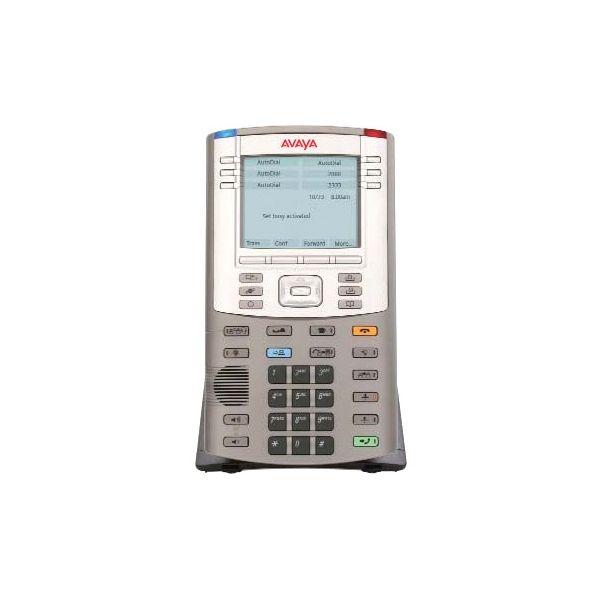 Avaya 1150E IP Phone - Wired/Wireless - Desktop, Wall Mountable - Graphite, Metallic Silver