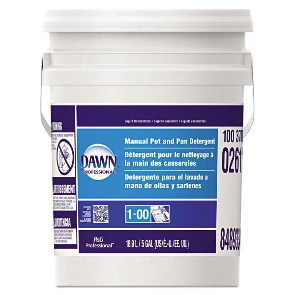 Dawn Professional Manual Pot & Pan Dish Detergent, Original Scent, Five Gallon Pail