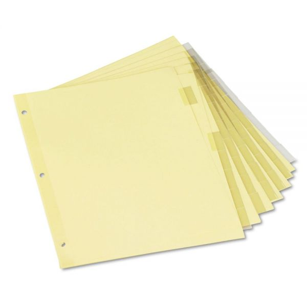 Universal Insertable Tab Index Dividers