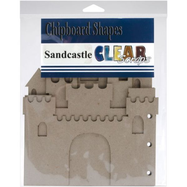 "Sandcastle Chipboard Album 7""X9"""