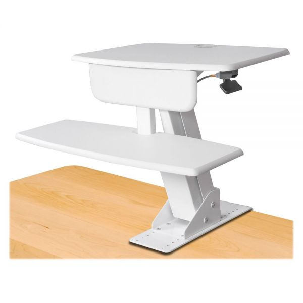 Kantek STS800W Monitor Sit-Stand Workstation