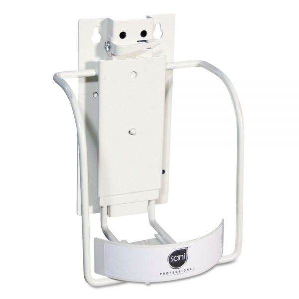 Sani Professional Universal 3-in-1 Sani-Bracket, Plastic/Vinyl-Coated Wire