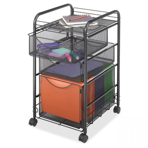 Safco Onyx Mesh Mobile File Cart