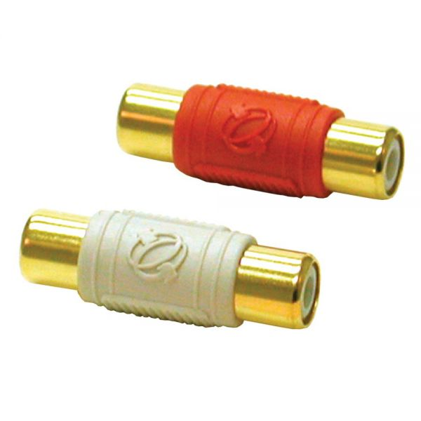 C2G 2-Piece RCA Dual Channel Audio Coupler