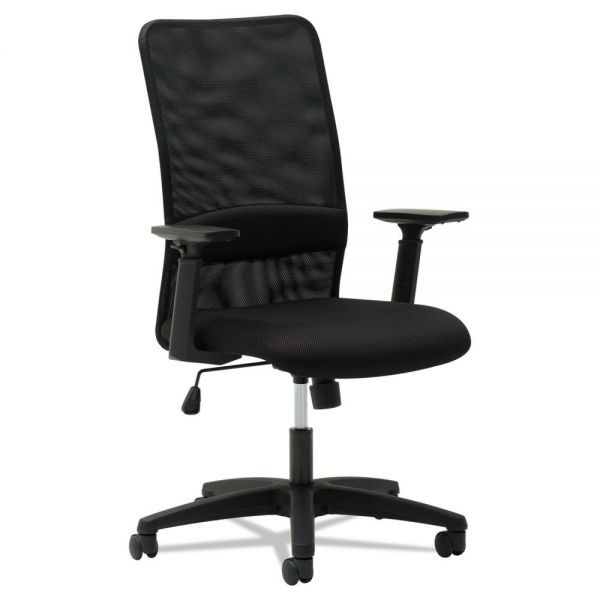 OIF Mesh High-Back Chair with Height Adjustable T-Bar Arms