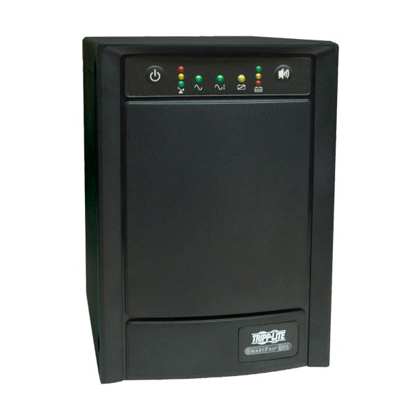 Tripp Lite UPS Smart 750VA 500W Tower AVR 100V-120V Pure Sign Wave USB DB9 SNMP RJ45