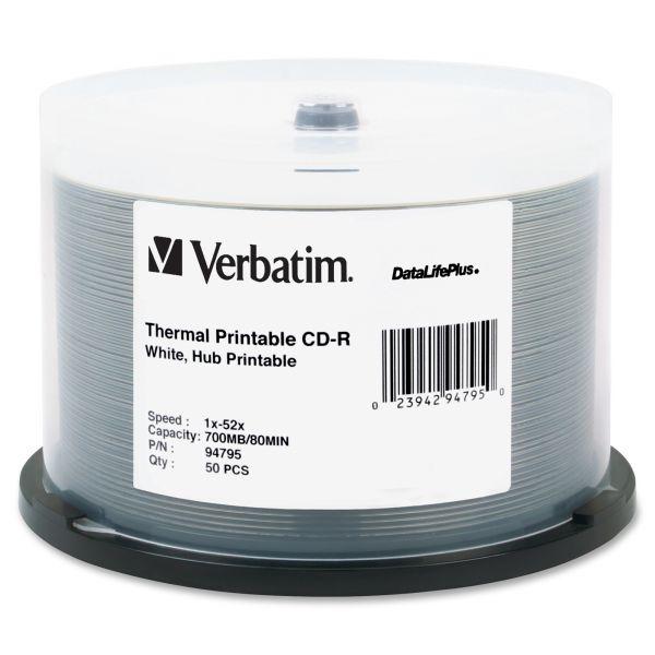 Verbatim DataLifePlus Recordable CD Media